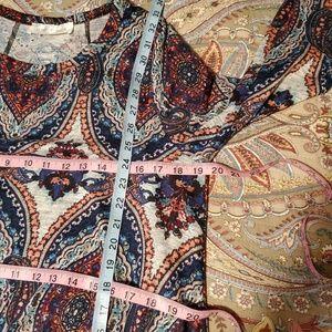 Love Kuza Dresses - Love Kuza Medallion Print Swing Dress